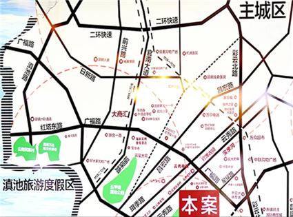 官房·都铎城邦位置图