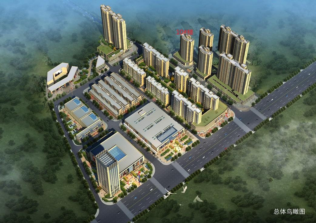 安陆凤凰城高清图