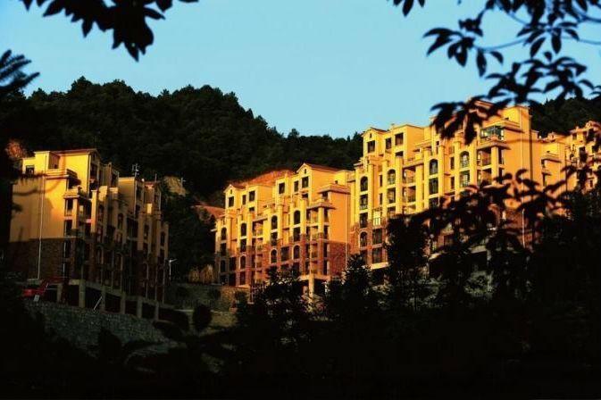 枕泉翠谷实景图