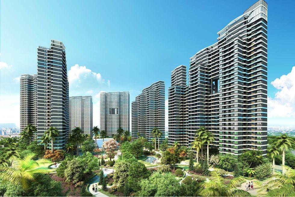 御城金湾:在售建面约46平米一房,均价11500元/平方米起。
