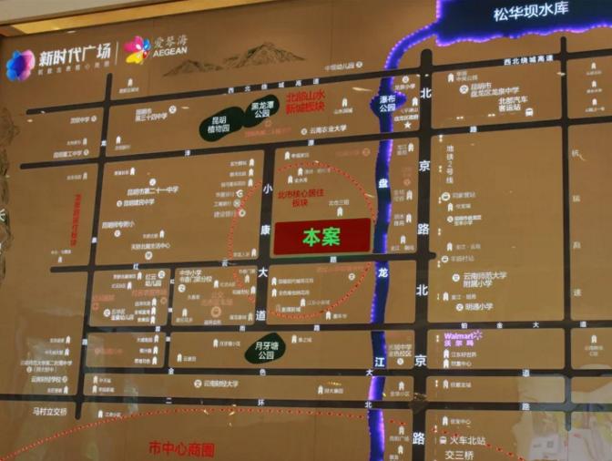 新时代广场位置图