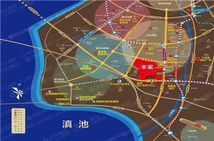 恒泰·滇池名门位置图