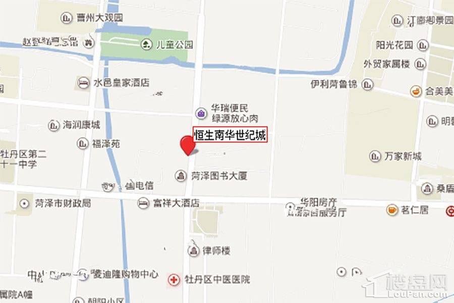 恒生·南华世纪城位置图