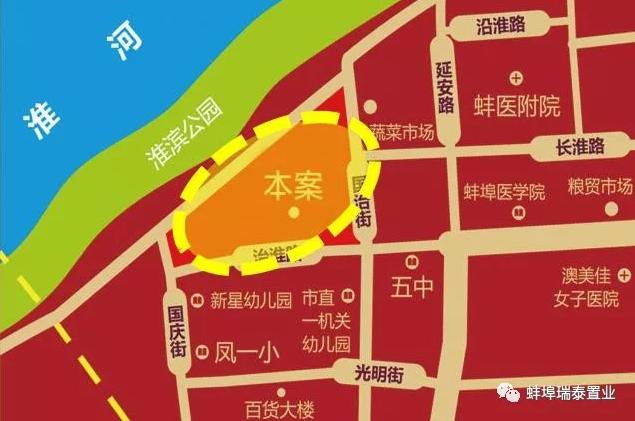 瑞泰·韵江台位置图