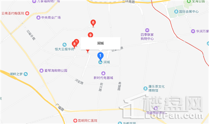 润城位置图