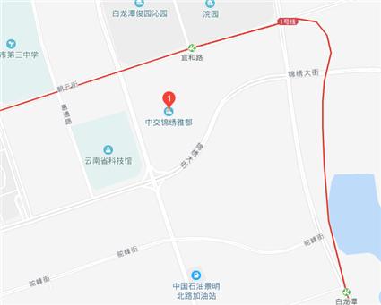 中交·锦绣雅郡位置图