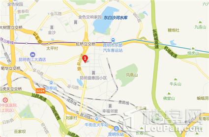 中南碧桂园樾府位置图