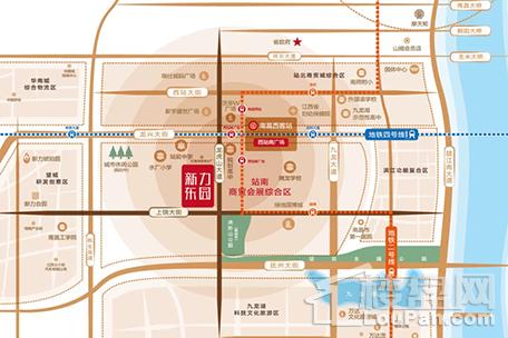 新力东园位置图