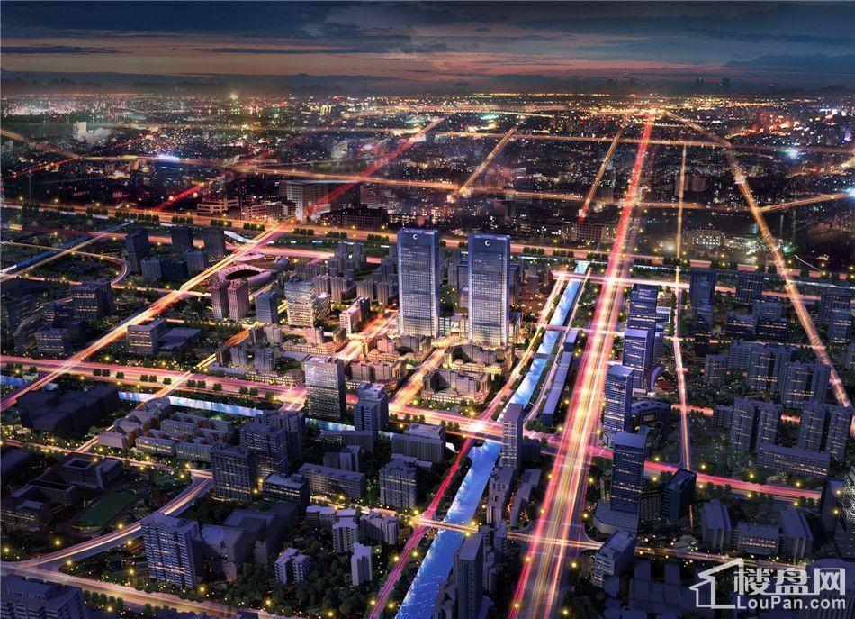 城市生活广场效果图
