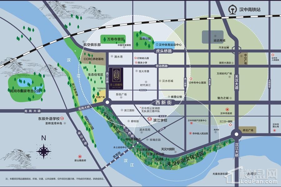 滨江公园壹号位置图