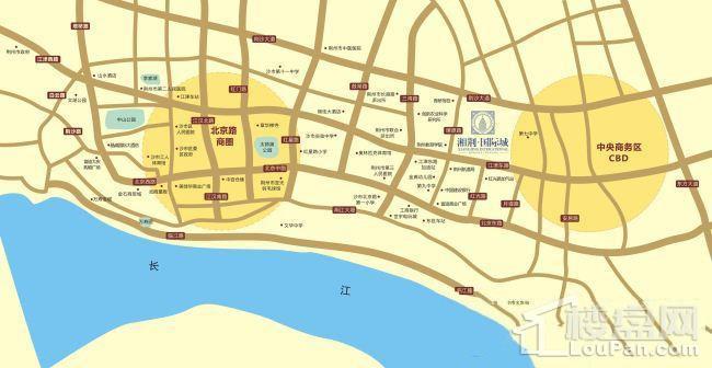湘荆国际城位置图