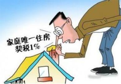 2017年购房契税计算器