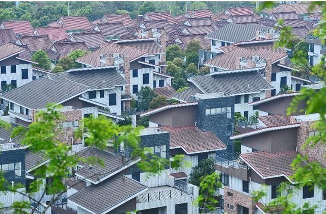 这个地方遍地都是豪华别墅 是中国最牛农村