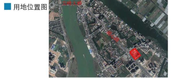 斗门白藤湖湖心路东侧商业、住宅地块用地规