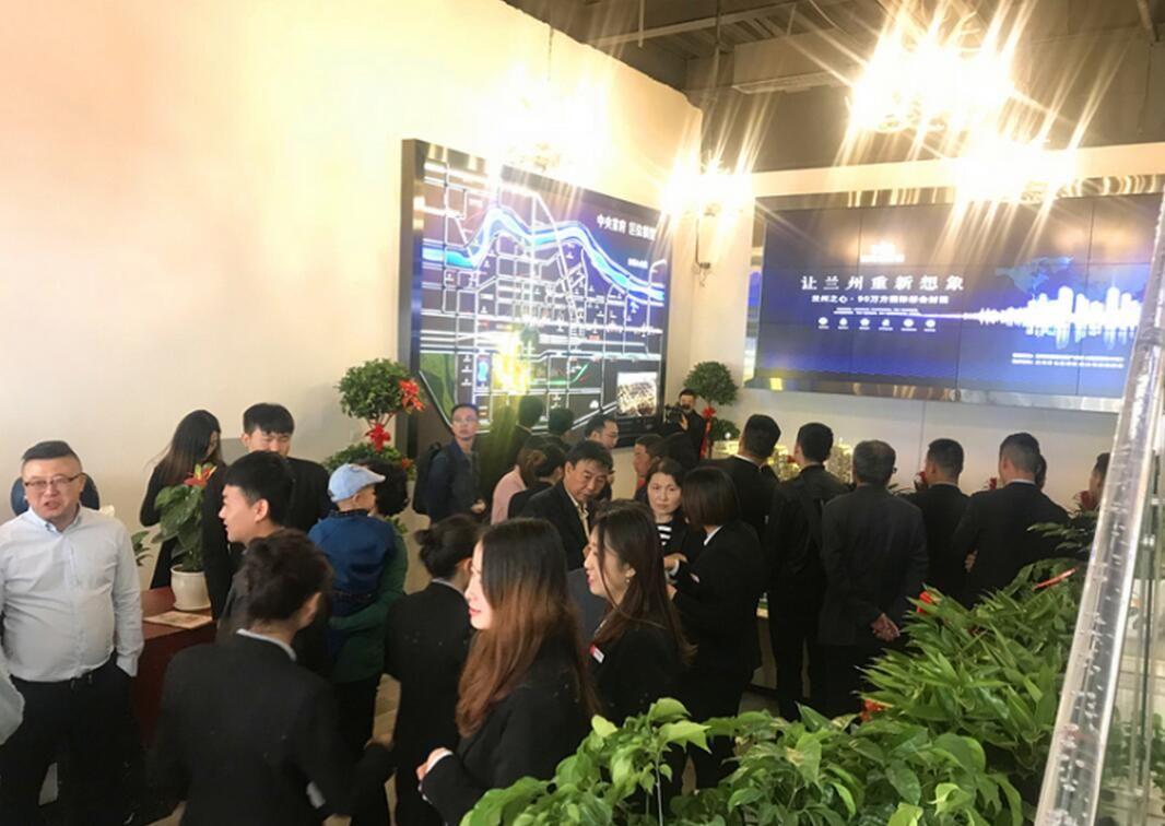 国际旅游港中央首府城市展厅盛大开放