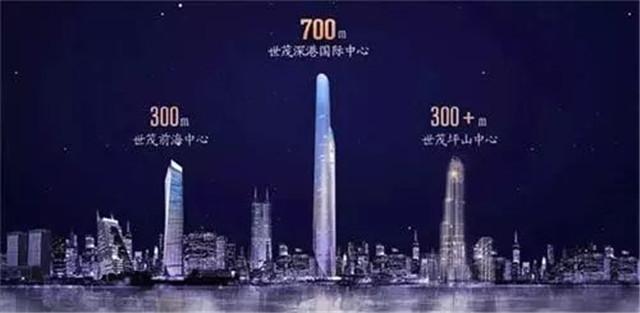 世茂701米、华润666米超高层!西北第一、第二
