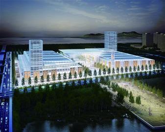 红岛国际会议展览中心预计今年年底前建成