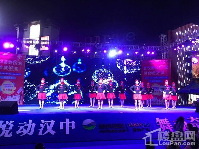 """巅峰对决!""""吾悦广场""""杯2018汉中广场健身舞"""