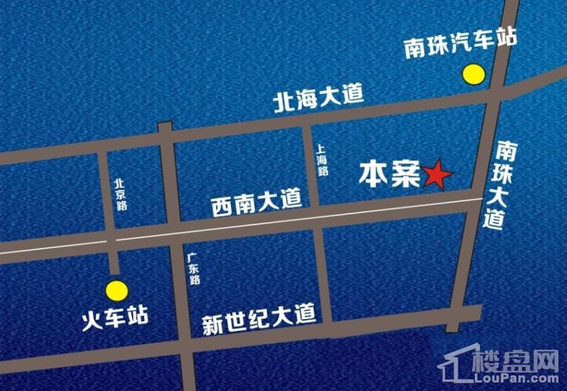 东盟国际贸易城位置图