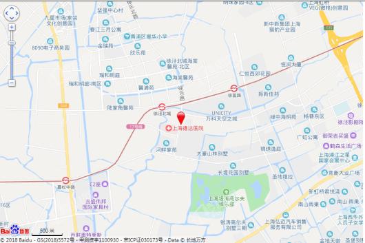 虹泾东八区电子地图