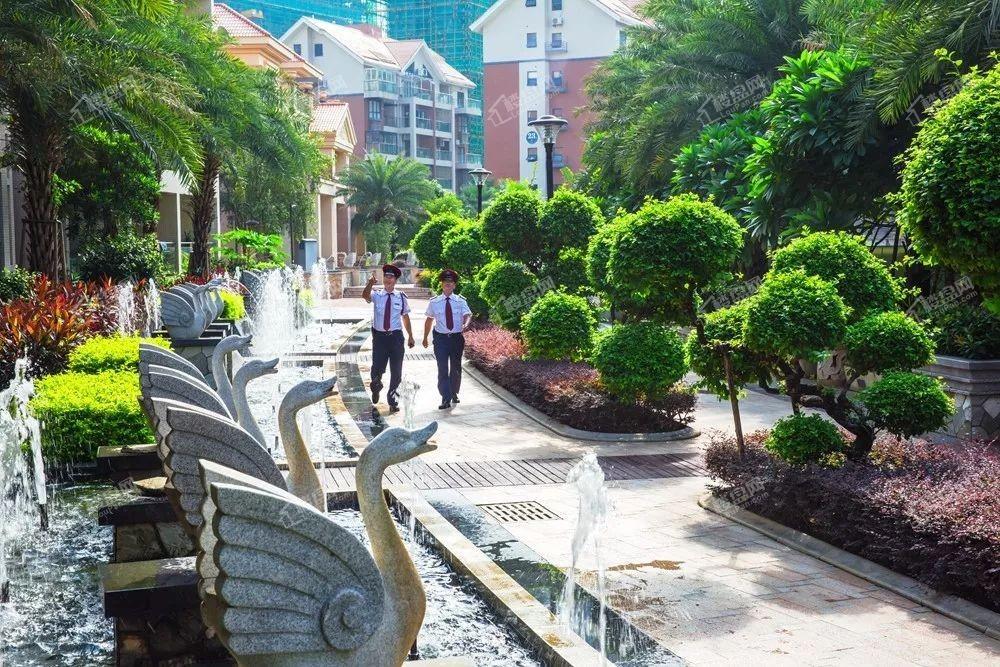 万泉城二区花禾里组团实景图