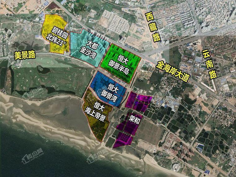 恒大御景半岛三期御景湾项目位置