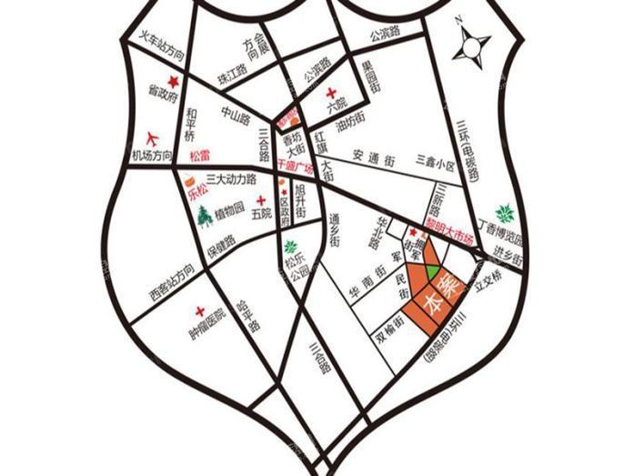 金色城邦位置图