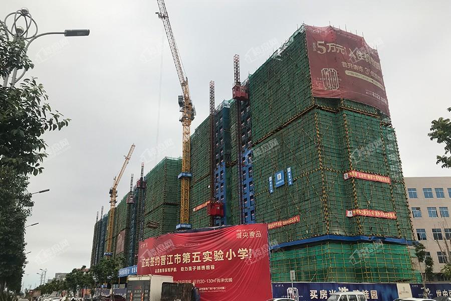 碧桂园万顺城央壹品楼栋实景图