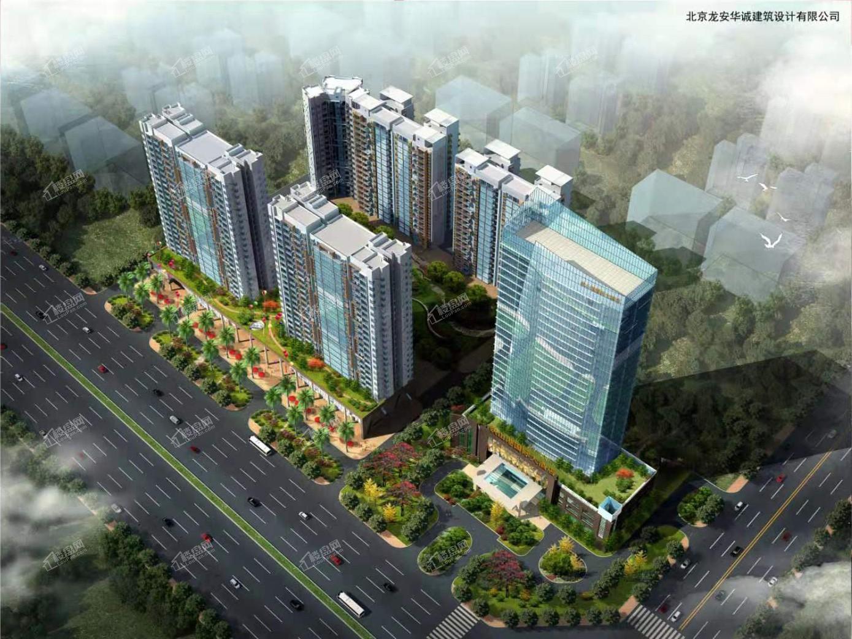 金港商业中心鸟瞰图