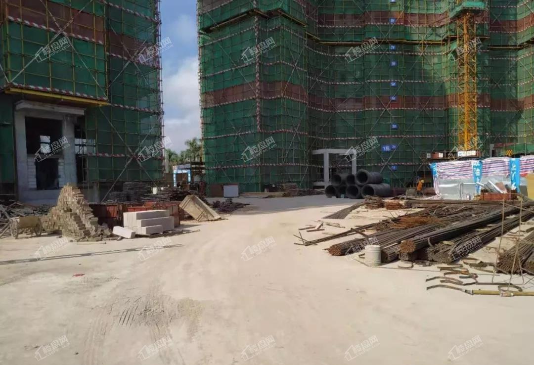 山湖海悦府19年9月工程进度