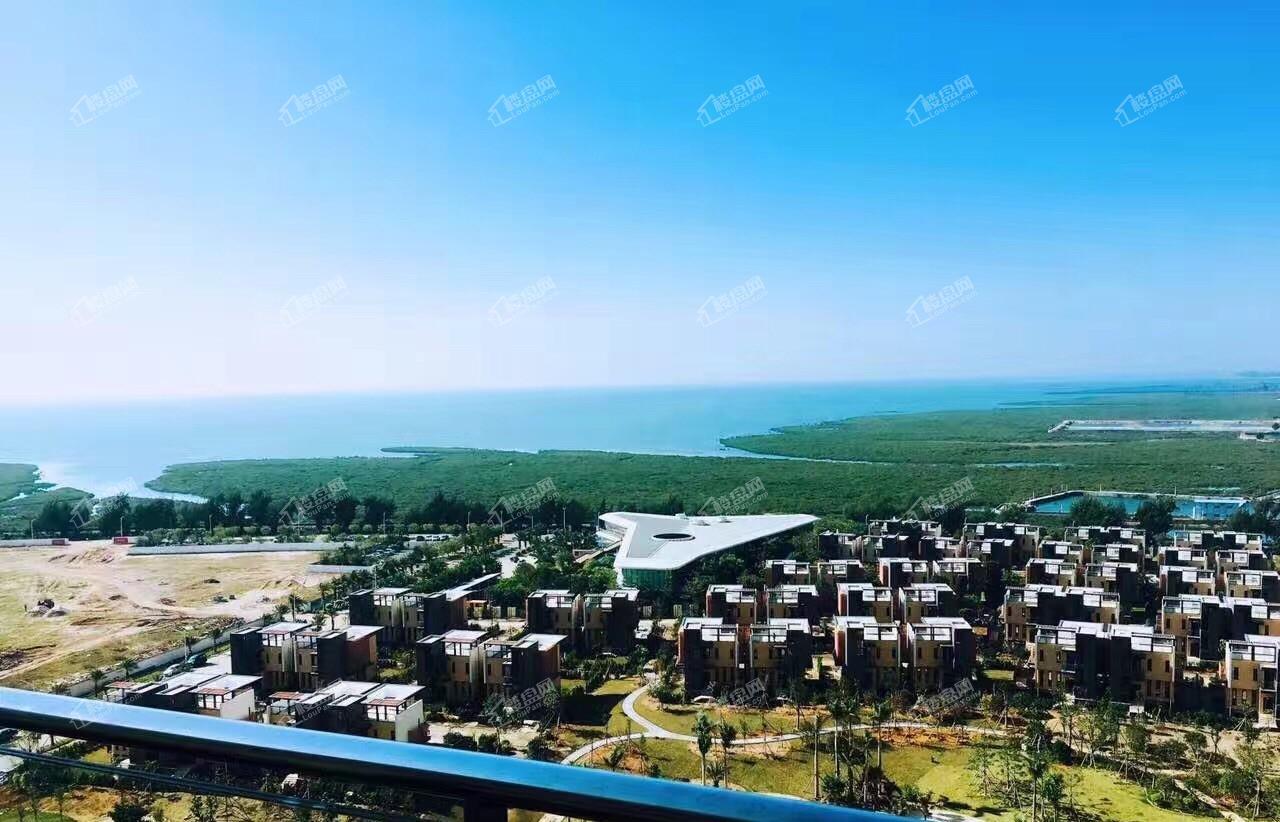 中信国安北海第一城一号地块航拍图1