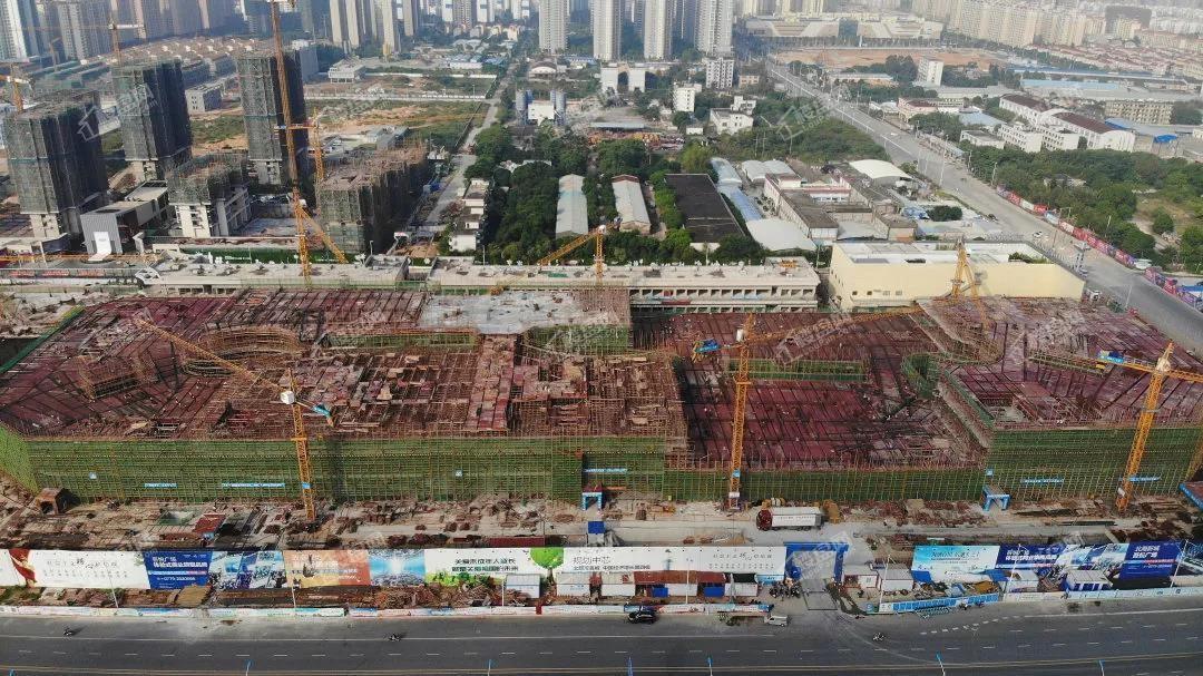 北海吾悦广场10月工程s1大商业东侧照