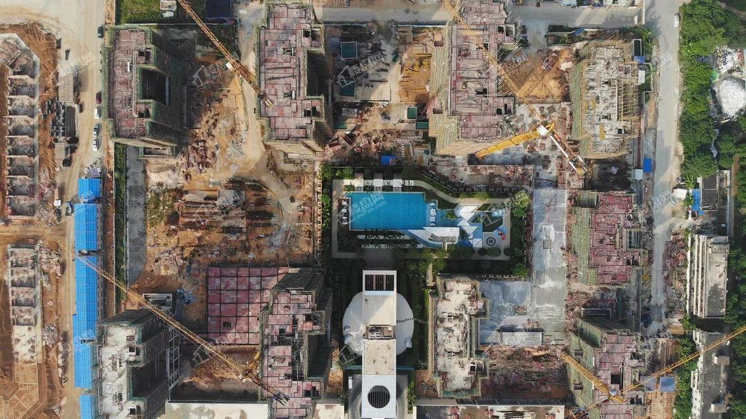 北海吾悦广场10月工程S3住宅俯视照