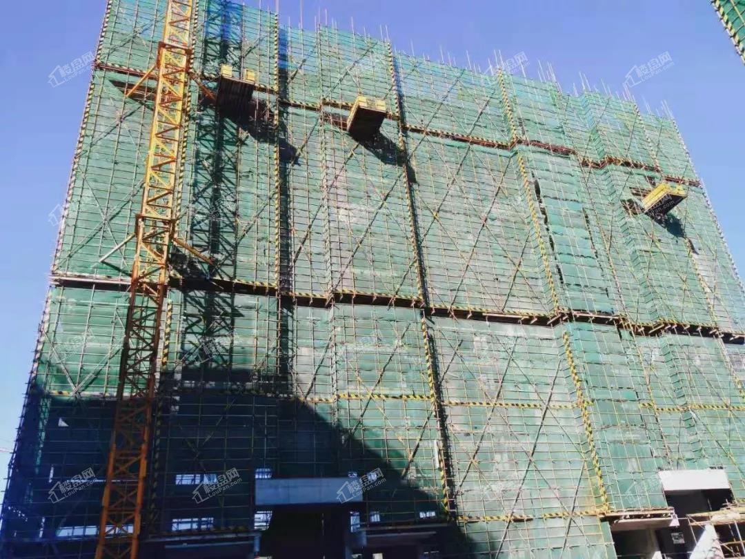 10月工程进度-89#主体14层施工中