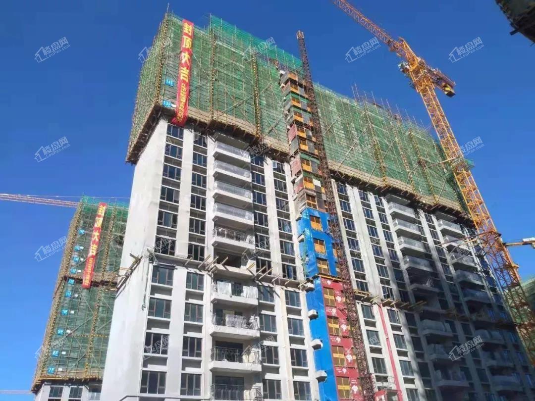 10月工程进度-86#主体已封顶 精装修完成三分之二