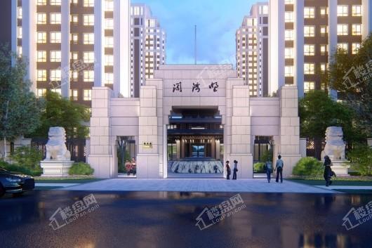 天玖·澜湾墅北门-清华门