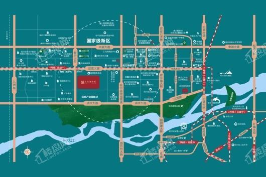 天玖·澜湾墅区位图