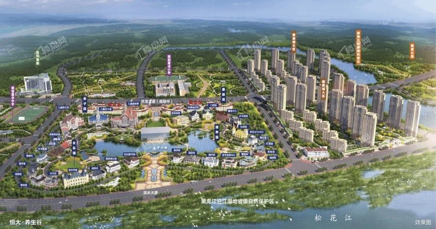 恒大文化旅游城规划图
