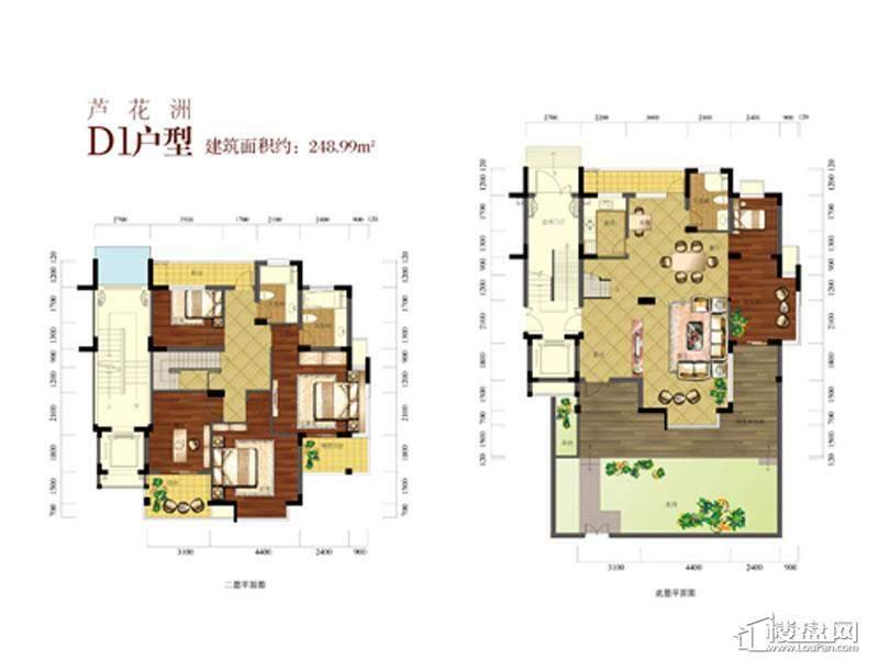 金成江南春城竹海水韵户型图