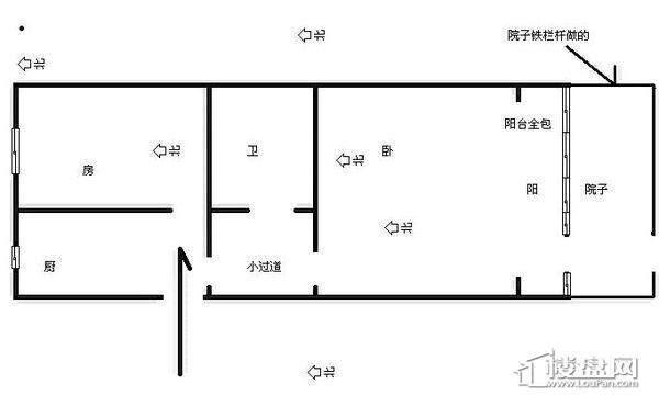 翠苑三区户型图