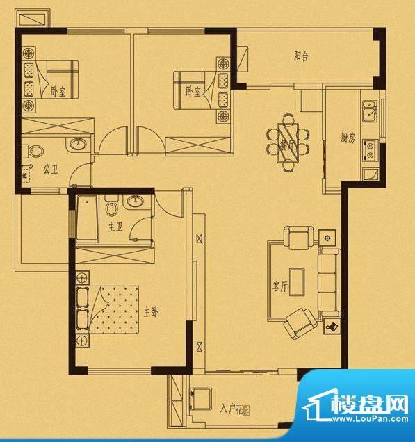 百捷中央墅府7#楼03面积:0.00m平米