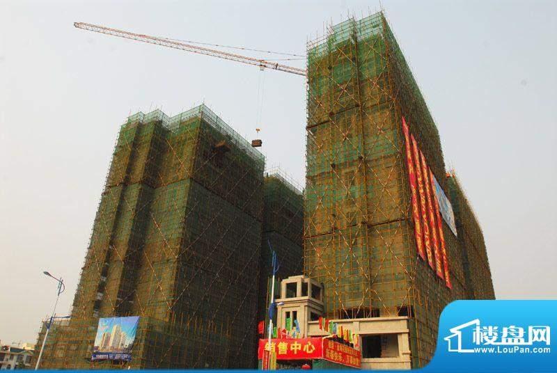 德臣·金海花园一期施工进度:建至17层