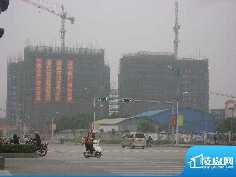 德臣·金海花园项目沿上海路外景图2012