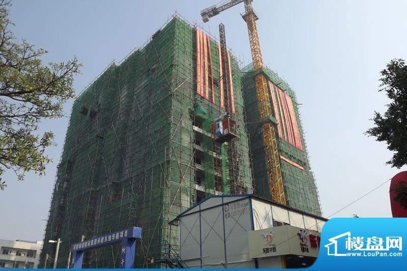 东旭华庭项目外景图20111117