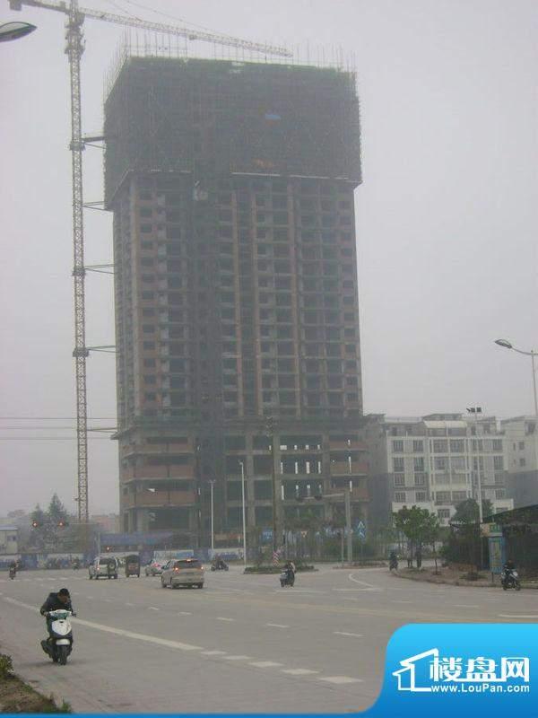 光华大厦项目沿贵州路实景图(2012-05-