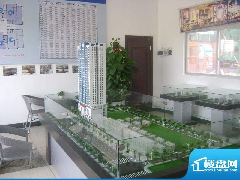 光华大厦项目售楼部沙盘实景图20111214