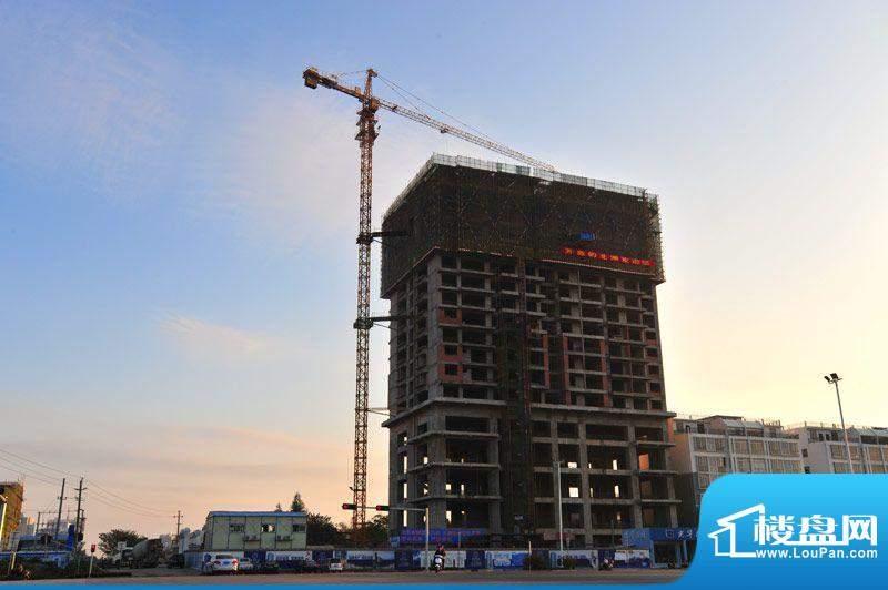 光华大厦项目施工全景20111204