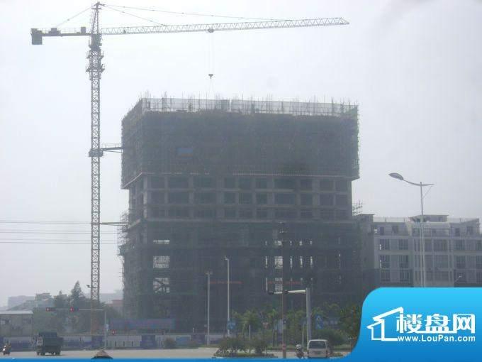 光华大厦项目整体施工外景图20111026