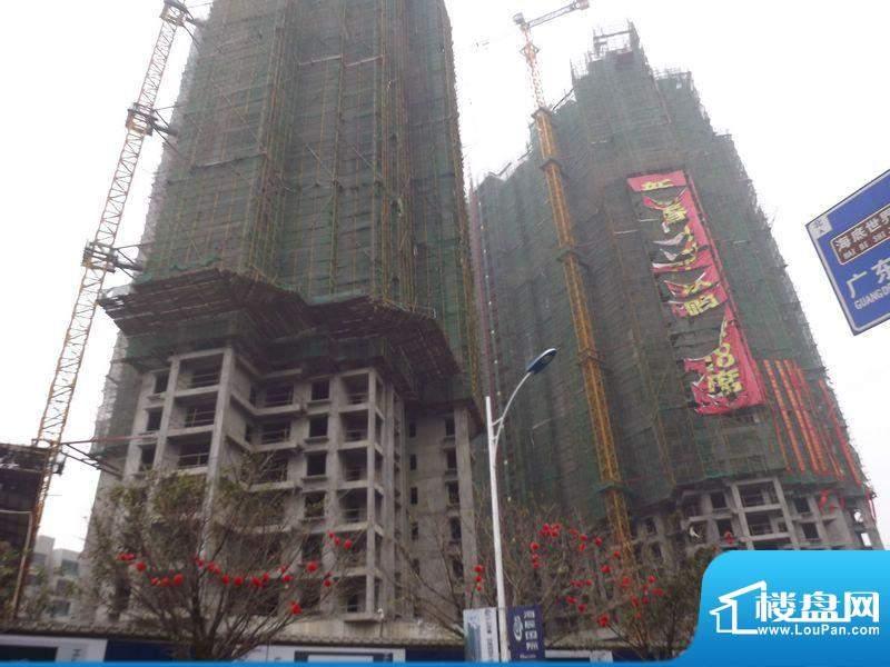 海辰国际项目施工实景图(2012-02-20)