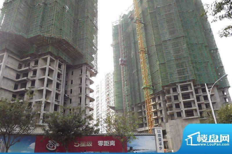海辰国际项目工程实景图20111129